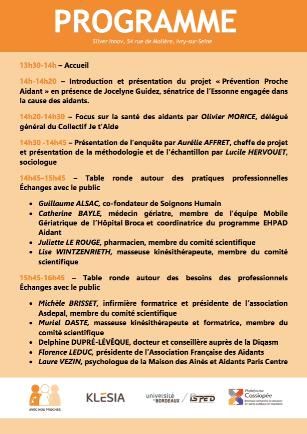 programme presentation prevention proche aidant
